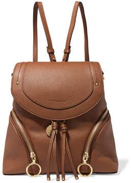 See by Chloe Olga Medium Textured-leather Backpack - Tan