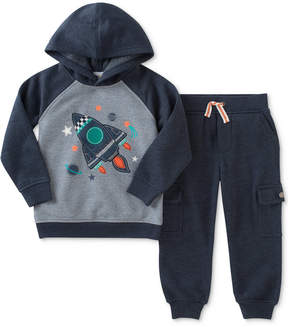 Kids Headquarters 2-Pc. Rocket Fleece Hoodie & Jogger Pants Set, Baby Boys (0-24 months)