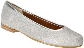 Ros Hommerson Silver Glitter Odelle Flat - Women