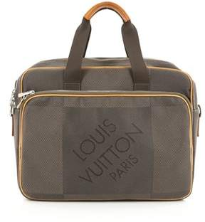 Louis Vuitton Pre-owned: Geant Associe Briefcase Limited Edition Canvas Gm. - BROWN - STYLE
