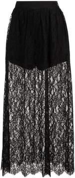 Fleur Du Mal high waisted lace skirt