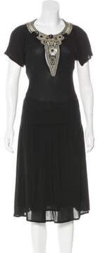 Christian Lacroix Embellished Skirt Set