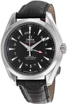 Omega Seamaster Aqua Terra Black Dial GMT Men's Watch