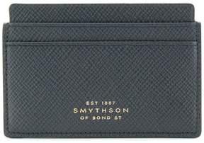 Smythson embossed logo cardholder