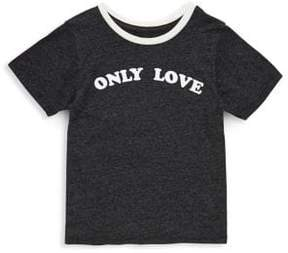 Spiritual Gangster Toddler's, Little Girl's & Girl's Only Love Cotton Tee