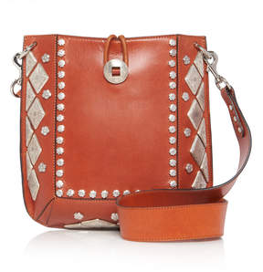 Isabel Marant Oskan Leather Hobo Bag