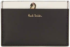 Paul Smith Black and White Naked Lady Card Holder