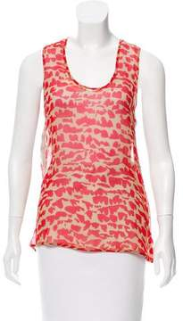 Timo Weiland Printed Silk Top