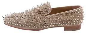 Christian Louboutin Dandy Pik Pik Flat Loafers