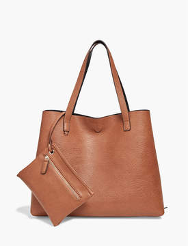 Lucky Brand REVERSIBLE VEGAN LEATHER TOTE