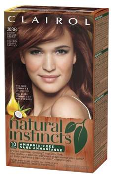 Clairol Natural Instincts Hair Color Bright Auburn 20RB Bright Auburn