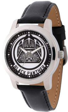 Marvel Avengers Mens Black Strap Watch-Wma000213