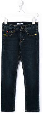 MSGM studded jeans