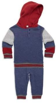 Splendid Baby Boy's Two-Piece Cotton Hoodie & Pants Set