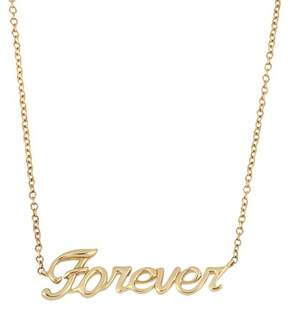 Bony Levy 14K Yellow Gold Forever Pendant Necklace