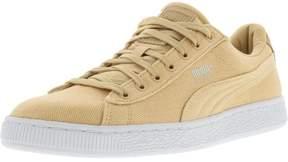 Puma Men's Basket Classic Cvs Natural Vachetta Ankle-High Fabric Fashion Sneaker - 8M