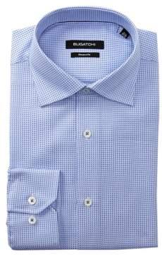 Bugatchi Sky Blue Shaped Fit Dress Shirt