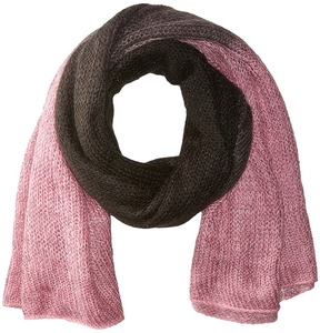 Betsey Johnson Ombre Lurex Muffler Scarves