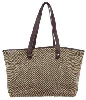 Hermes Woven Chennai Tote - BROWN - STYLE
