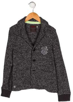 Catimini Boys' Knit Button-Up Blazer