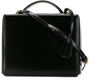 Mark Cross classic box shoulder bag
