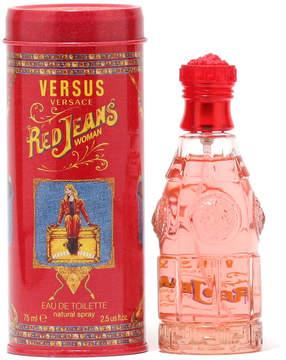 Versace Red Jeans for Ladies Eau de Toilette Spray, 2.5 oz./ 75 mL