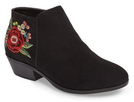 Sam Edelman Girl's Petty Embroidered Bootie