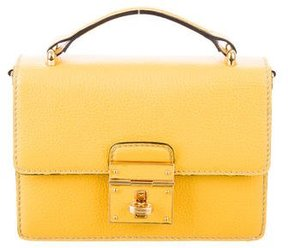 Dolce & Gabbana Mini Rosalia Bag - YELLOW - STYLE
