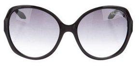 Roberto Cavalli Bucaneve Snakeskin Sunglasses