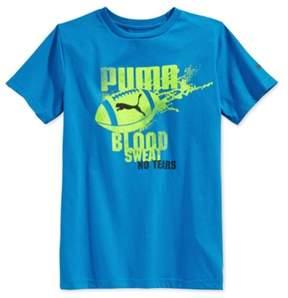 Puma Boys Football No Tears Graphic T-Shirt