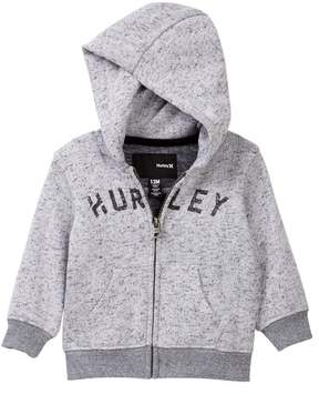Hurley Retreat Zip Front Hoodie (Baby Boys)