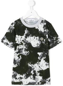 Stone Island Junior camouflage print T-shirt