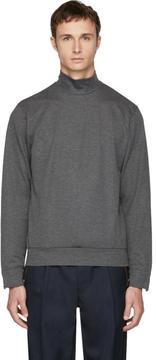 Kolor Grey Plain Turtleneck