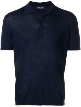 Roberto Collina classic polo shirt