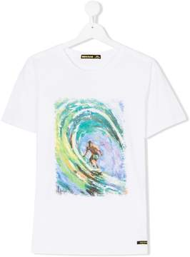 Finger In The Nose Surf print T-shirt