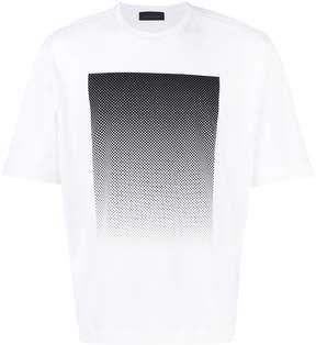 Diesel Black Gold gradient print T-shirt