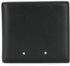 Valentino Men's Black Leather Wallet.