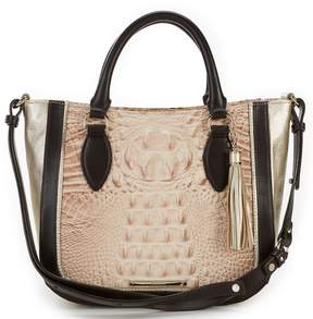 Brahmin Kendall Collection Colorblock Small Lena Satchel