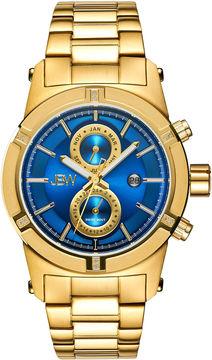 JBW Strider Mens Diamond-Accent Gold-Tone Stainless Steel Watch J6263H