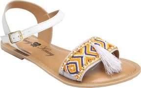 Penny Loves Kenny Syclone Tassel Ankle Strap Sandal (Women's)