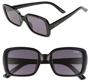 Quay Women's #quayxkylie '20S 54Mm Square Sunglasses - Black/ Smoke