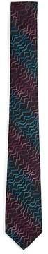 Topman Black Technicolour Tie