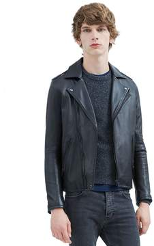 IRO Ether Leather Jacket With Side Tabs