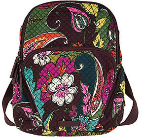 Vera Bradley As Is Signature Print Hadley Backpack - ONE COLOR - STYLE