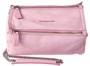 Givenchy Pandora Small Leather Chain Crossbody.