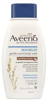 Aveeno Skin Relief Gentle Scent Body Wash Nourishing Coconut
