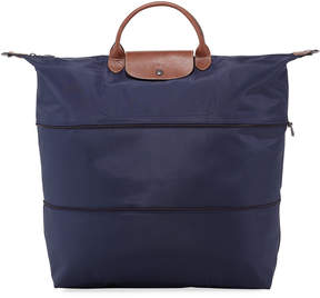 Longchamp Le Pliage Expandable Travel Bag - DARK BLUE - STYLE