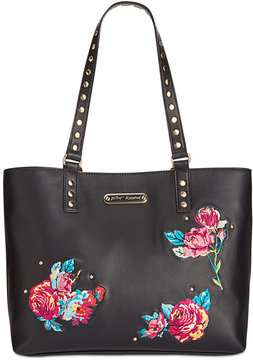Betsey Johnson Large Embroidered Tote, a Macy's Exclusive Style