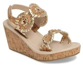 Jack Rogers Miss Luccia Wedge Sandal (Toddler & Little Kid)