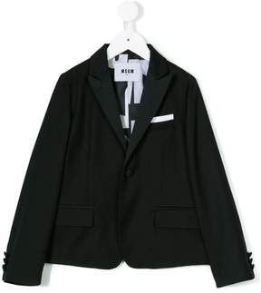 MSGM one button blazer
